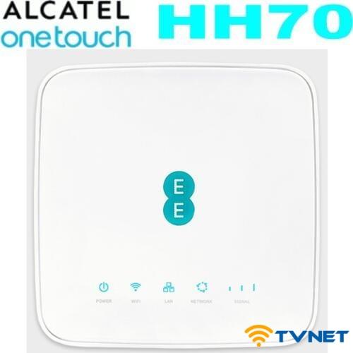 Bộ phát Wifi 4G Alcatel HH70 Cat7 tốc độ 300Mbps. Hỗ trợ 64 User