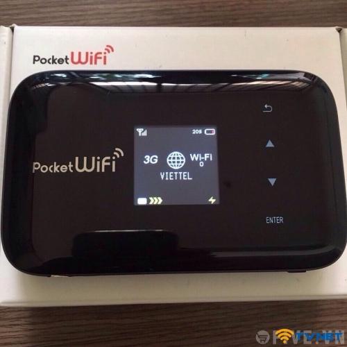 Bộ phát Wifi từ sim 3G-4G Emobile GL09P hàng Nhật tốc độ 43.2Mbps