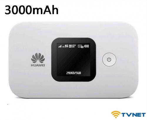 Bộ phát Wifi 4G LTE Huawei E5577-321 tốc độ 150Mbps - Hàng cao cấp, Pin khủng 3000mAh