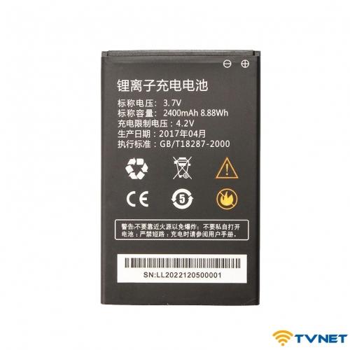 Pin bộ phát wifi 4G A800/A900/M88/ M100/RS803/C08 dung lượng 2400mAh (Đen)