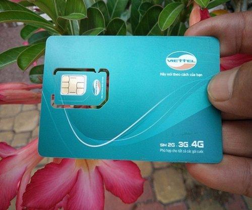 Sim 4G Viettel miễn phí 12 tháng không phải nạp tiền. Mỗi tháng tặng 5Gb tốc độ cao