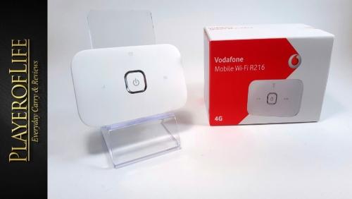 Bộ phát Wifi 4G Vodafone R216 chuẩn LTE 150Mbps. Hàng số 1 tại Anh