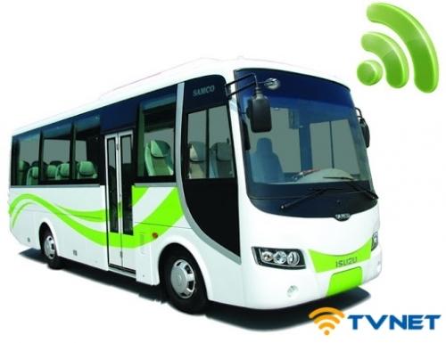 Tốp bộ phát Wifi 4G chuyên dụng cho xe ô tô, xe khách, xe giường nằm, xe du lịch tại TP HCM